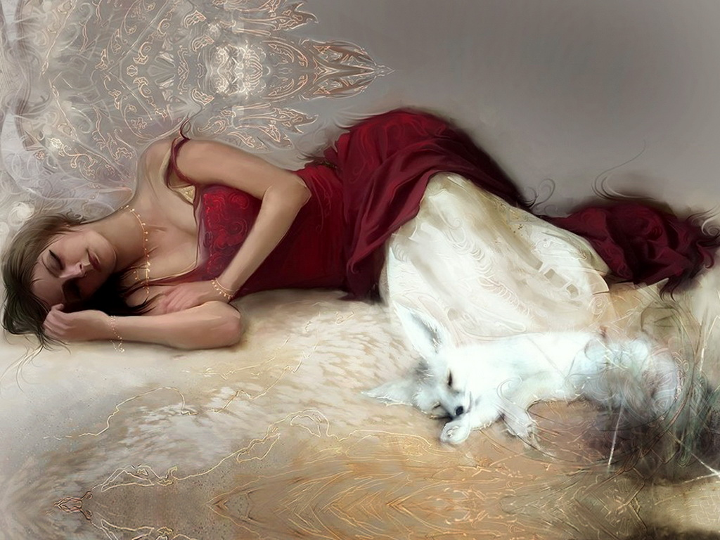 Голые спящие девочки