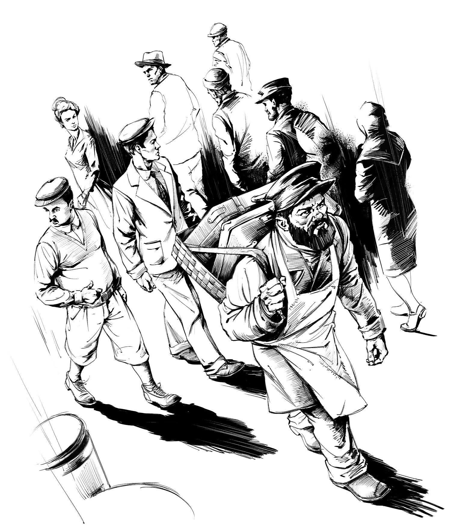 Фигура оголенной китайской бабы с половником 2