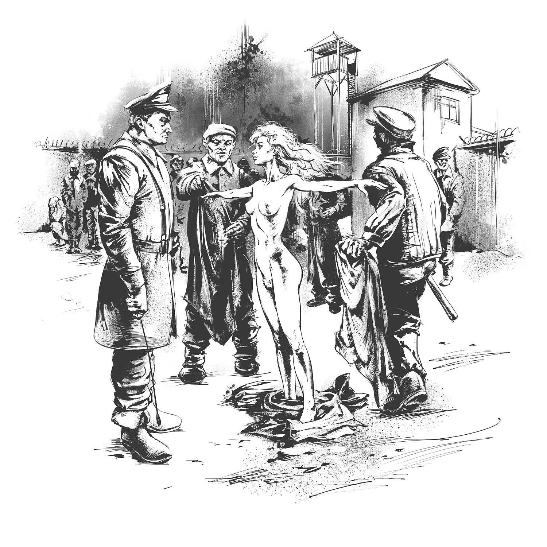 Доили женщин сиськи концлагерь