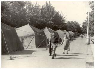 Палаточный городок []