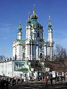 Андреевская церковь в конце XX в.