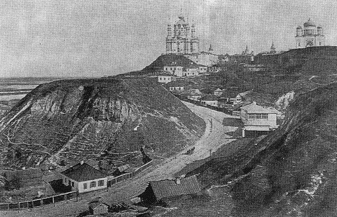 Андреевский спуск в середине XIX века