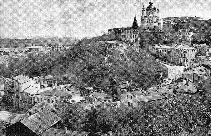 Андреевский спуск в середине XX века