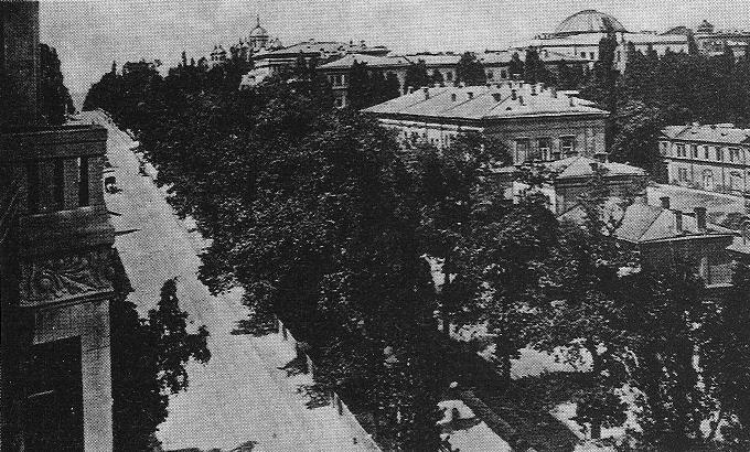 Бибиковский бульвар в XIX веке
