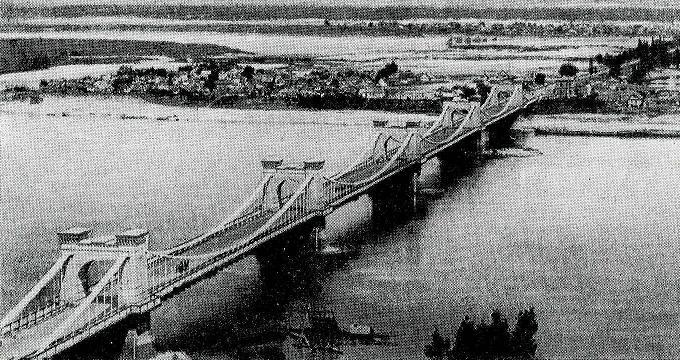 Цепной мост, XIX век