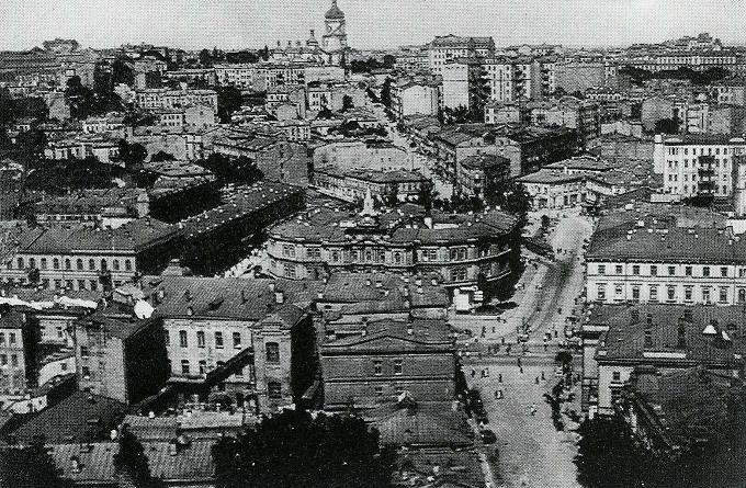 Думская площадь в XIX веке