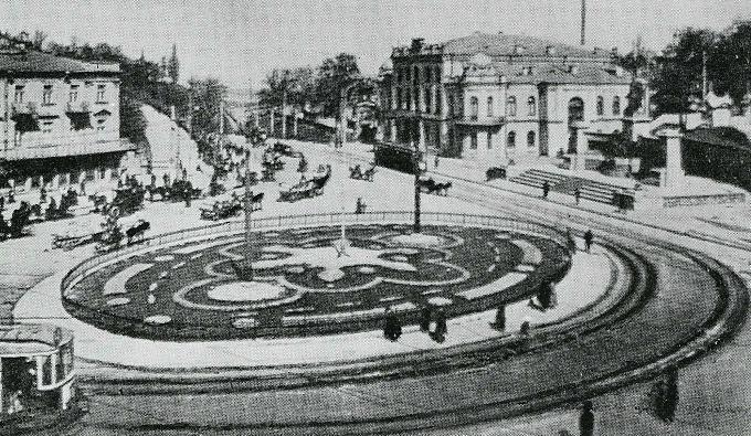 Европейская площадь в XIX веке