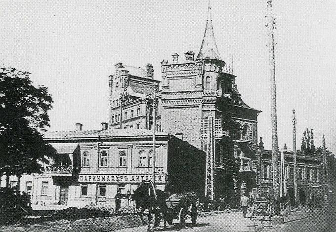 Ярославов вал в XIX веке, реальная парикмахерская=Антонiй=
