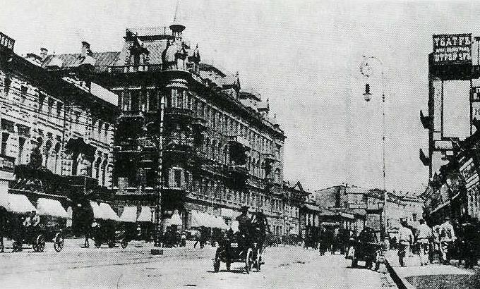 Крещатик в XIX веке