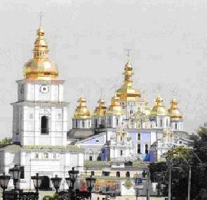 восстановленный Михайловский Златоверхий собор, XX век