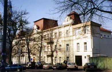 дом Тальзина в конце XX века