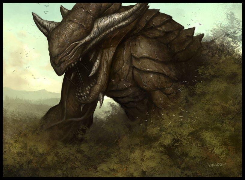 Battle against a creature (plot) 1278353486_47