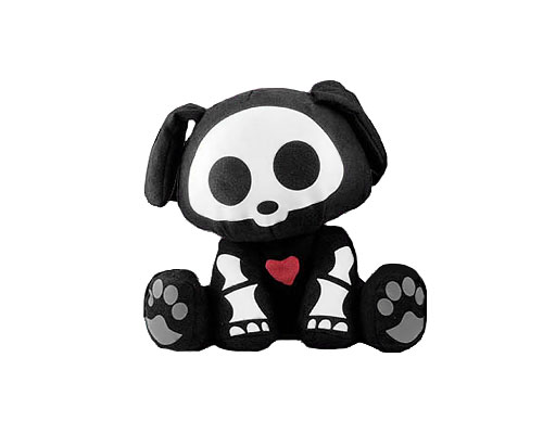 Скелэнималс- Собачка Дакс, плюшевая игрушка.