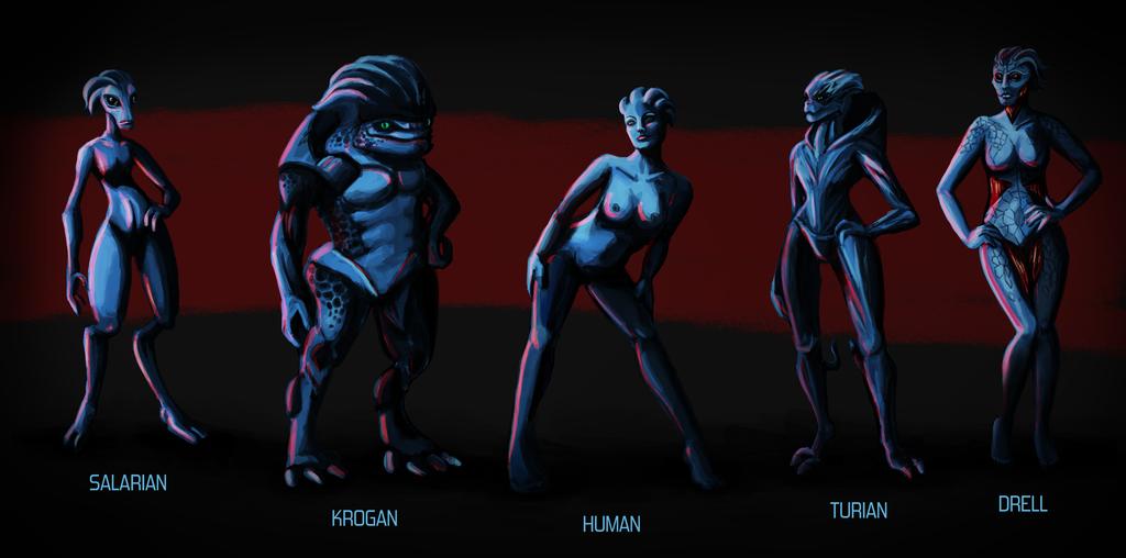5 Голая инопланетянка из mass effect