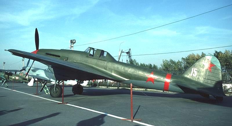 Легендарный штурмовик ИЛ-2