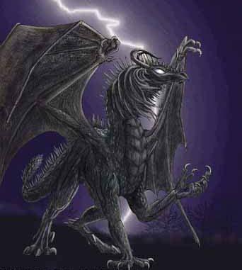 Им свойственно прятаться от чужих глаз.  Черные драконы обитают либо в подземных пещерах, либо в болотах...